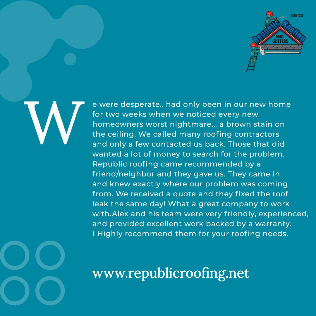 Republic Roofing Provides Only The Best For Your Home Or Business Call Us Today 954 917 6000 Pressurecleaning Cleaning Home Residenti Roofing Contractors Central Florida South Florida