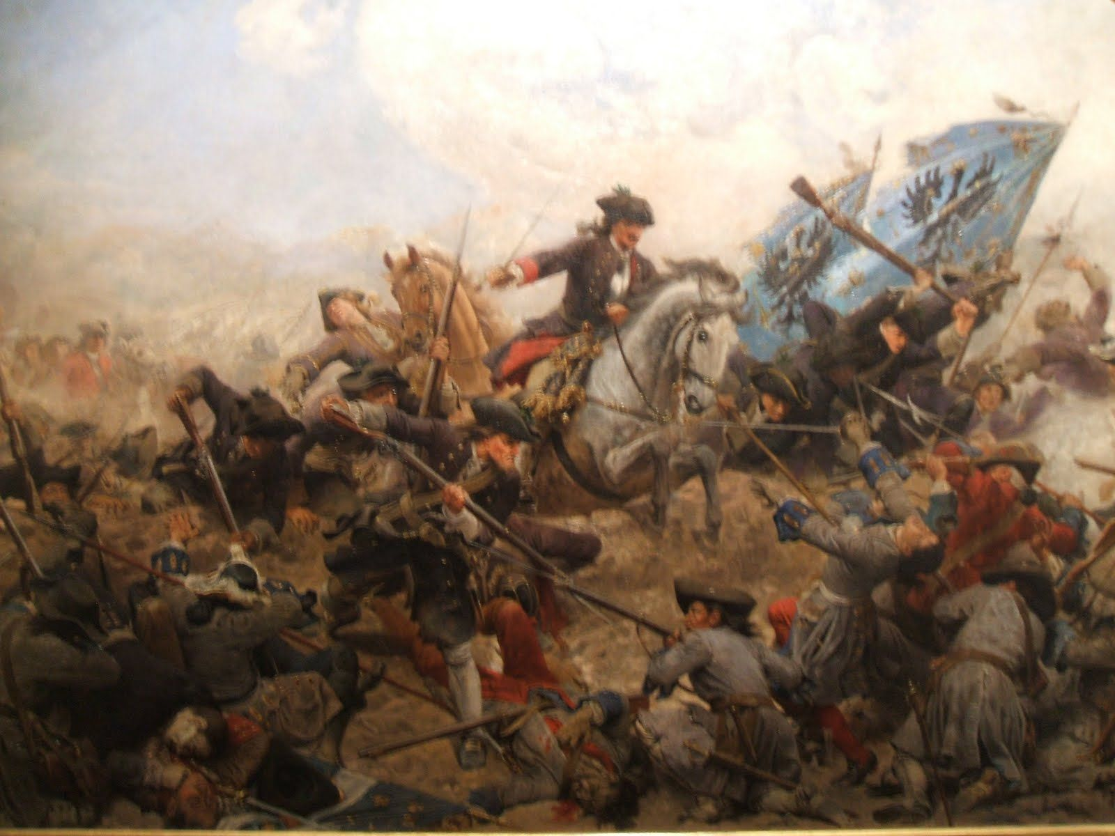 The War of the Spanish Succession happened in 1700 and dragged on ...