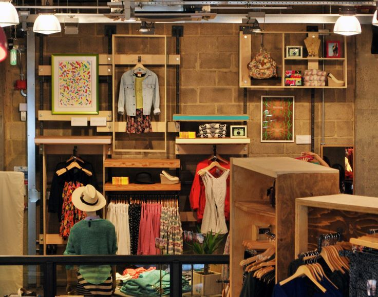 1970s funky store interior urban outfitters shop display