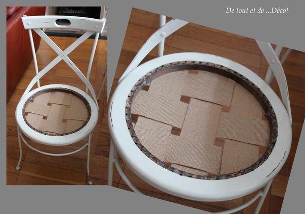chaises cann es avant apr s tuto de tout et de d co. Black Bedroom Furniture Sets. Home Design Ideas