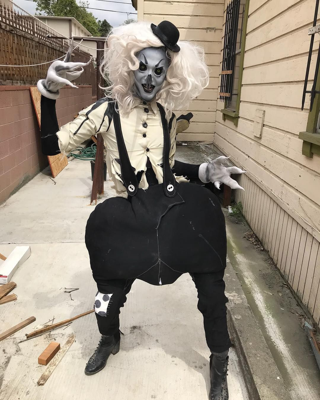 Abhora Rupaulsdragcon With Images Clown Clothes Dark