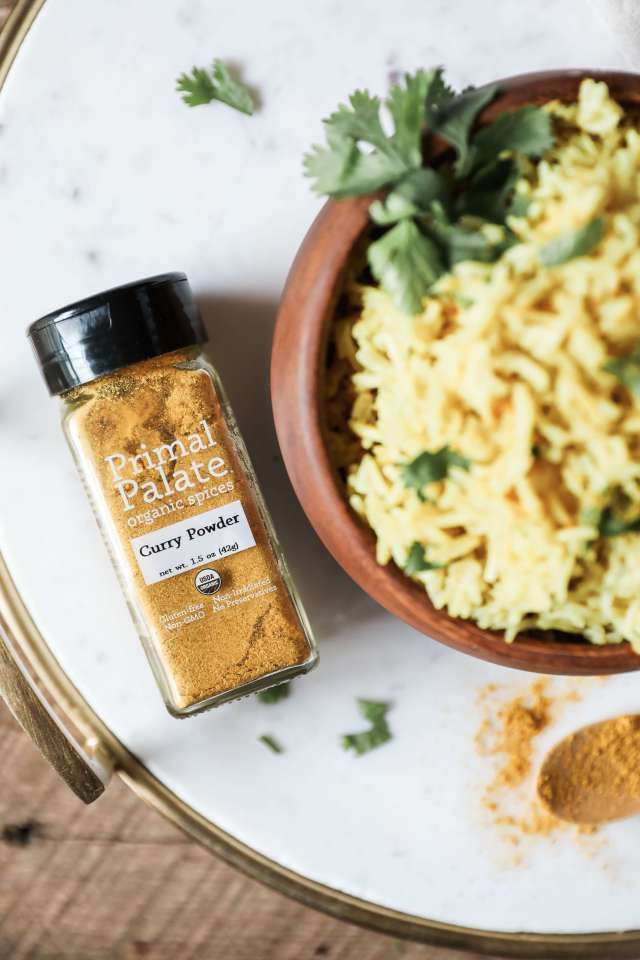 Instant Pot Coconut Curry Rice - Jessi's Kitchen