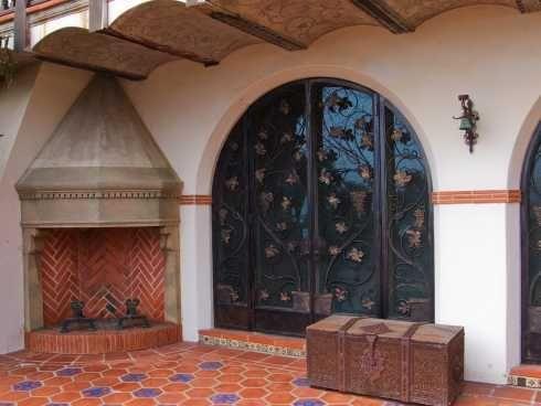 spanish style patio ideas good spanish style patio ideas 3 navy porches 15 french style corner - Spanish Style Patio Ideas