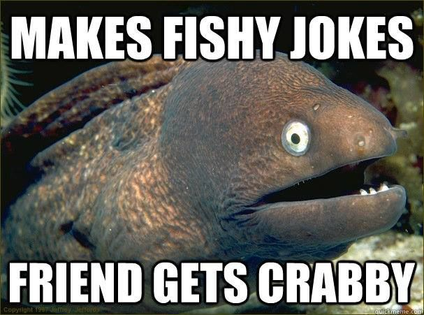 Fishy jokes for our friends. Laugh, it's 4th of July.