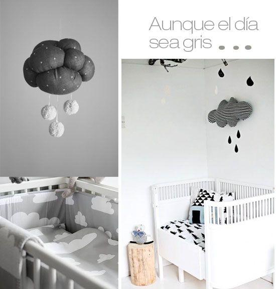 decorar bebe nubes
