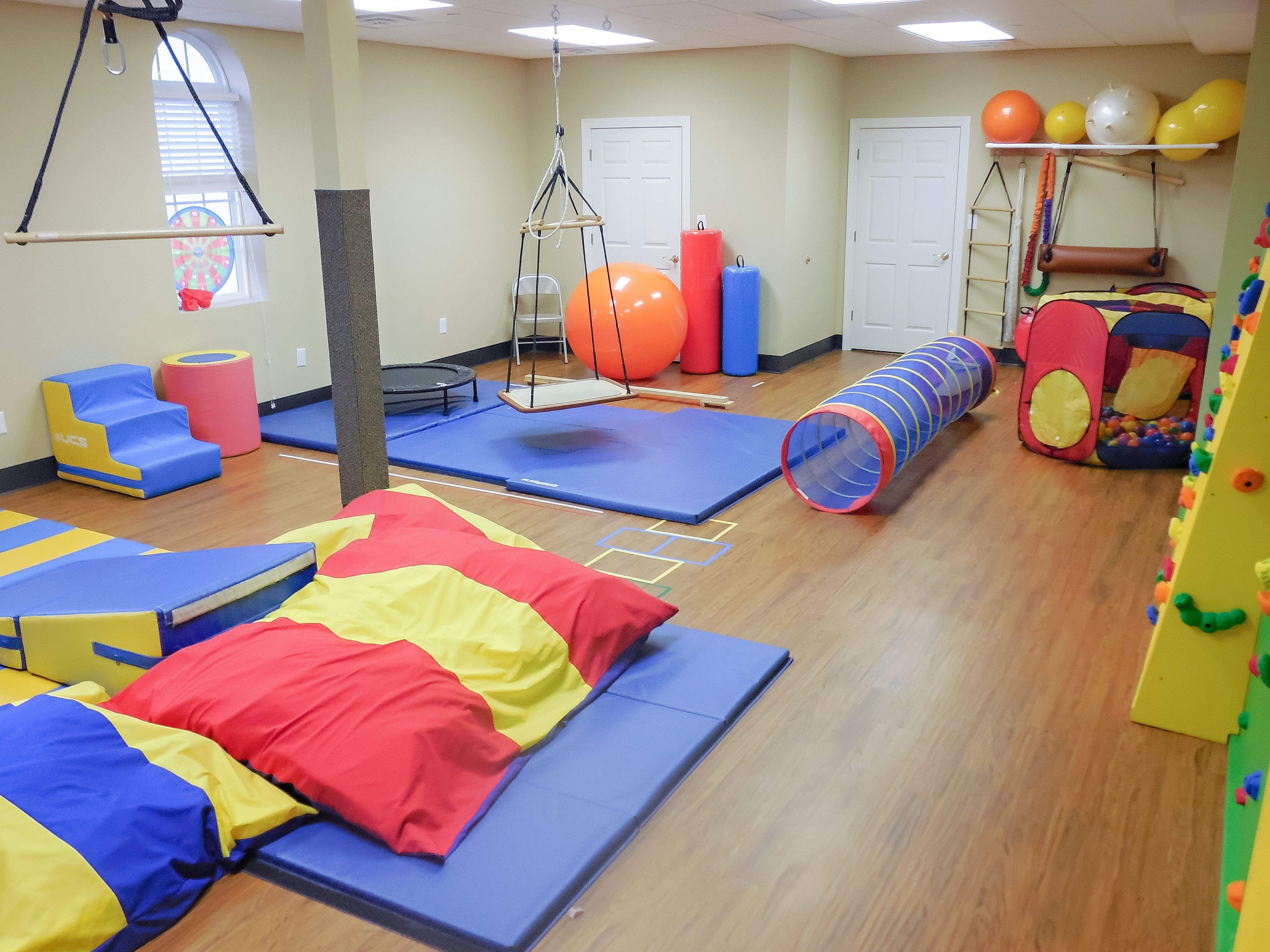 Pediatric Occupational Therapy Room Layout Therapy Ball