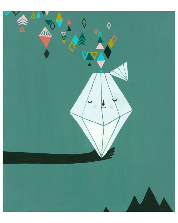 Opening The Diamond  8x10 Print by laurageorge on Etsy, $20.00