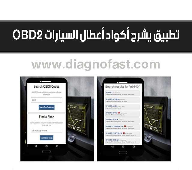 تطبيق خطير لتشخيص وشرح أكواد أعطال السيارات Obd2 Obd2 Coding Phone