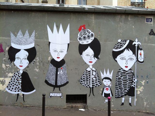 Fred le Chevalier #StreetArt #Paris #urbacolors