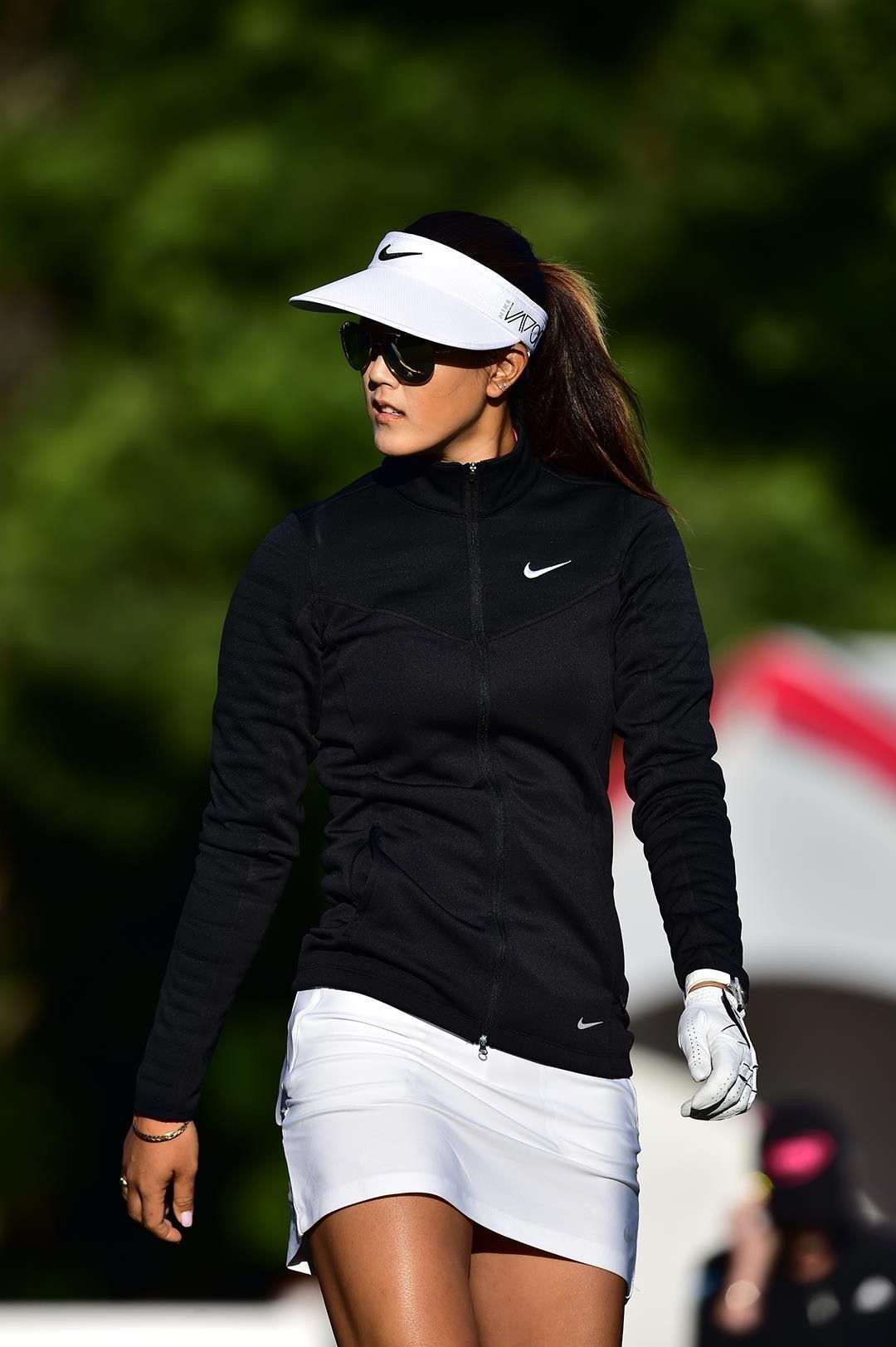 Sharon J Greene On Nike Shoes Golf Wear Golf Outfit