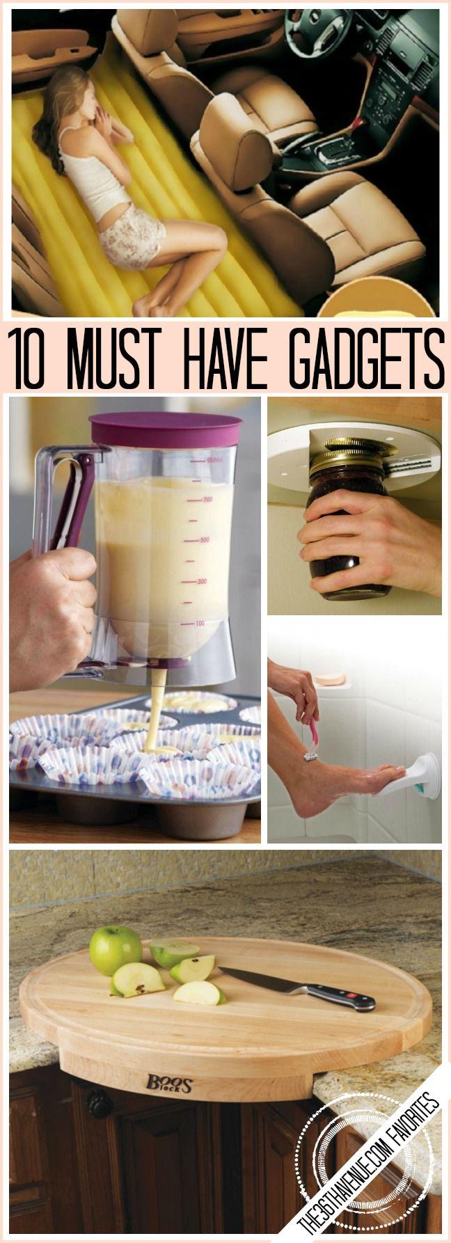 10 Clever Gadgets Everyone Should Have Calutile Gadget Cuisine Trucs Et Astuces Et Idee Home Staging