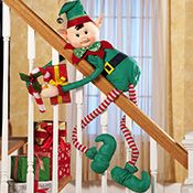 Elvin Elf Bendable Hugger Christmas Decoration #patiodepapas