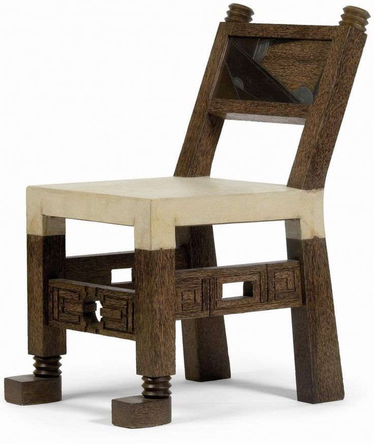 chaise africaine pierre legrain