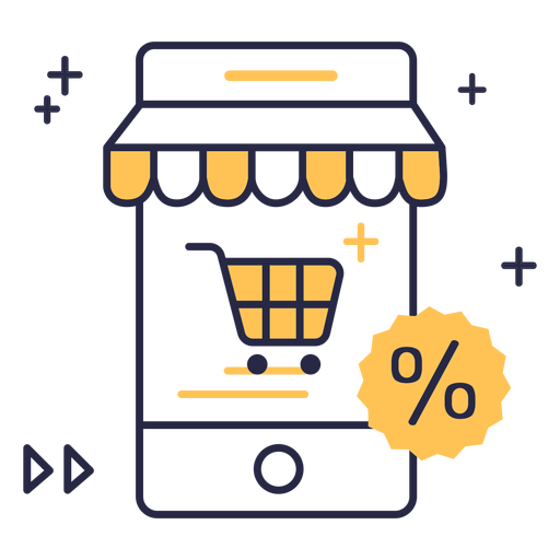 Online Shopping Discount Stroke Icon Ad Paid Paid Shopping Icon Stroke Online Discount Online Shopping Shop Icon Print Ads