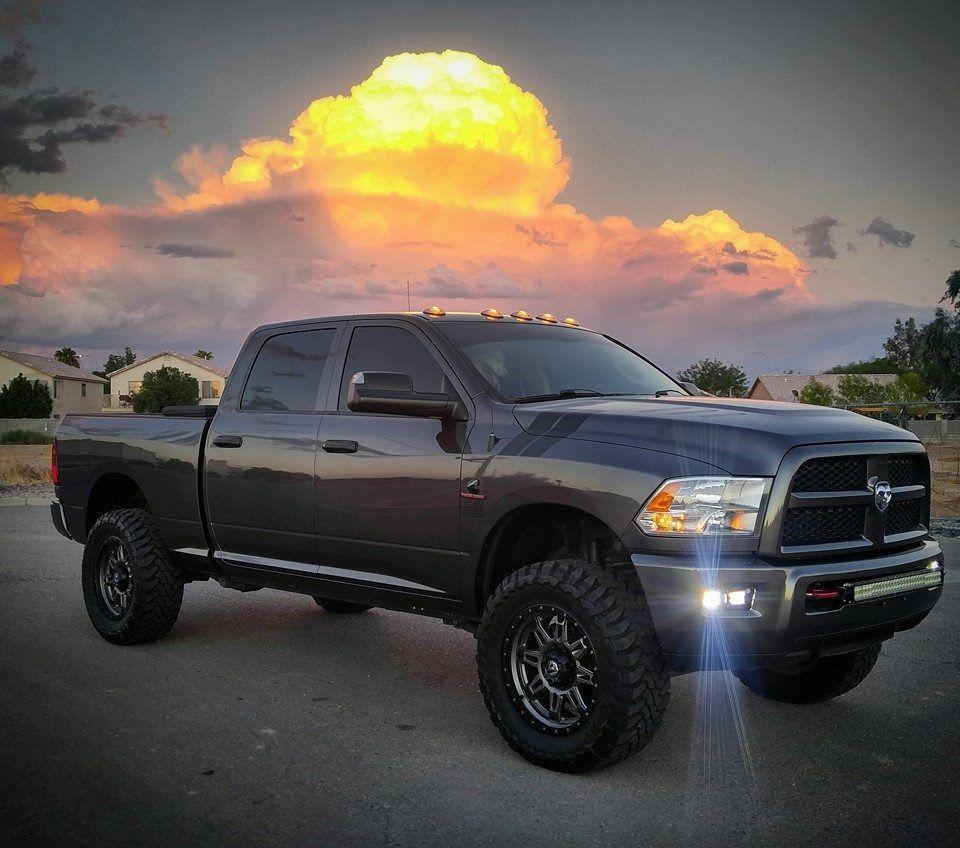 Grey Ram Cummins with Black Rhino wheels | Dodge Pickup ...