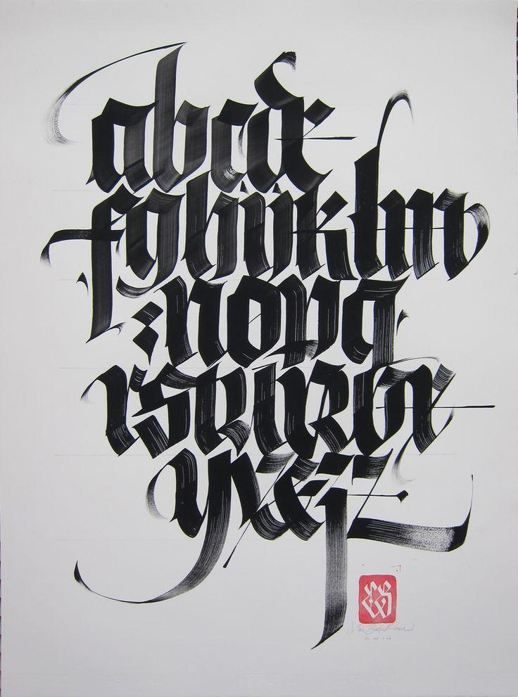 Resultado De Imagen Gothic Black Letter Exercises Pdf