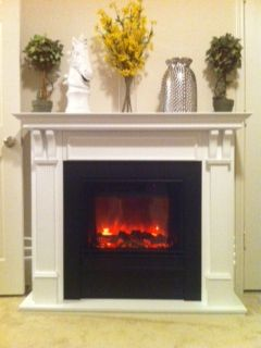 Real Flame Ashley 4 Electric Fireplace White Target