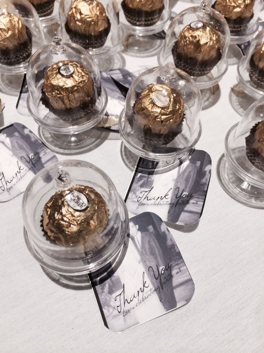 My Aunts Ferrero Rocher Idea For My Great Aunts Candy