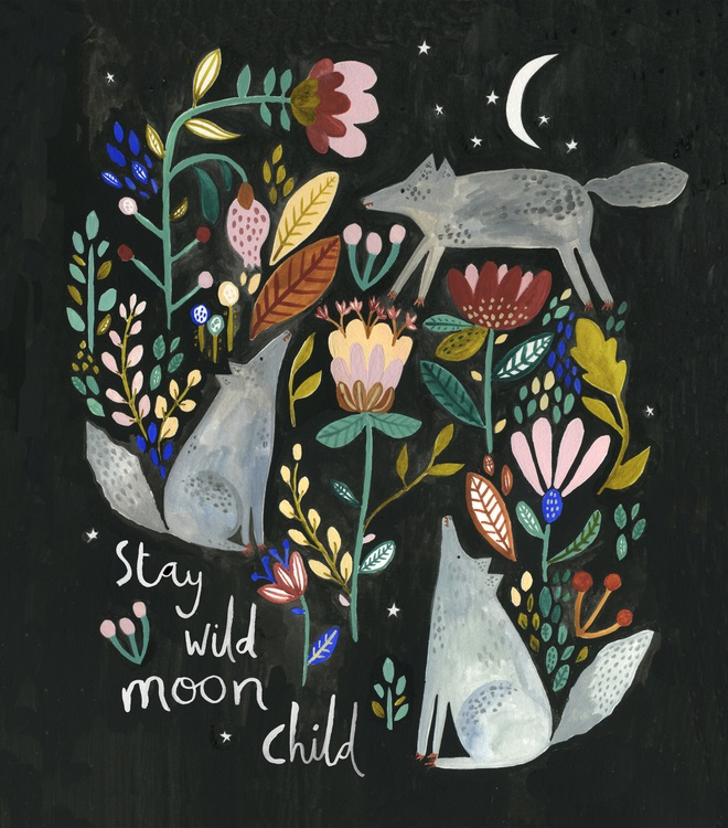Nature Inspired Illustrations by Rosie Harbottle - ArtisticMoods.com