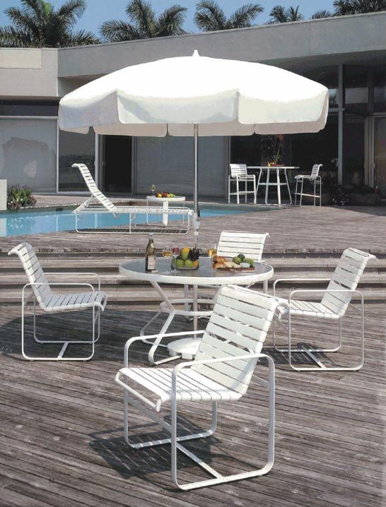 Brasilia Strap Seating by Tropitone. Furniture Companies, Outdoor Furniture,  Backyard Furniture, Yard - Brasilia Strap Seating By Tropitone. Since 1954 In 2018