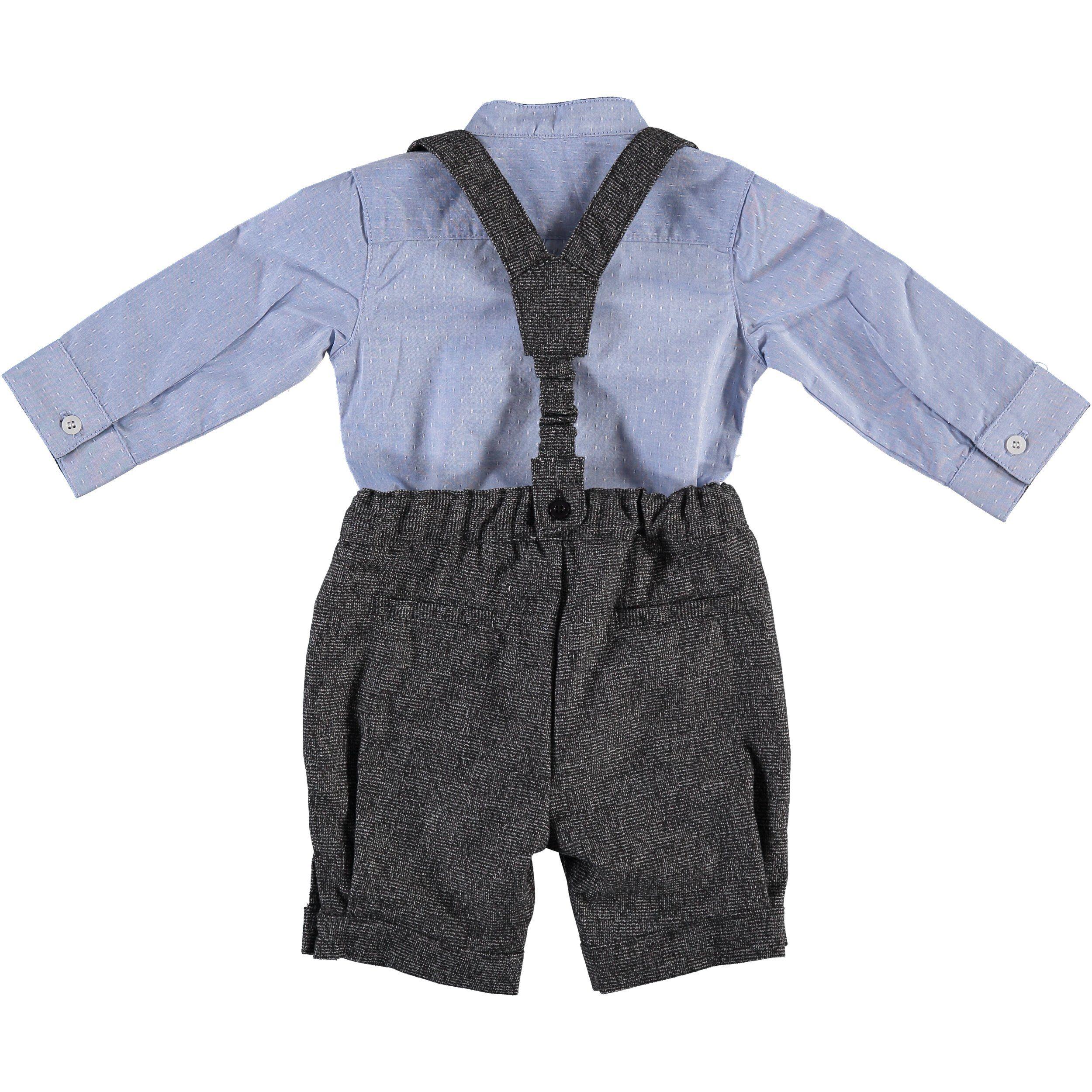 07c52e3db Baby Boy Grey Dress Shorts - raveitsafe