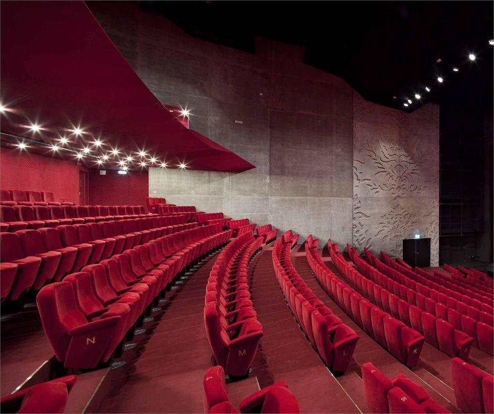 Le Théâtre Saint-Nazaire - Picture gallery  Auditorium design