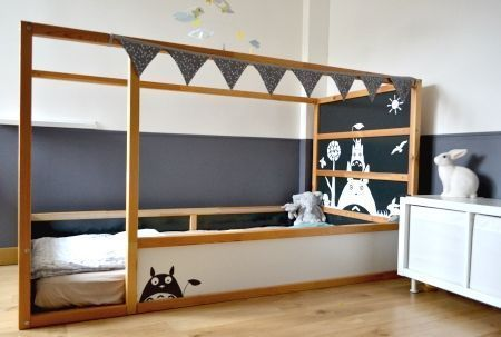 Letto Kura Ikea : Diy a castle bunk bed letto a castello a creative anna