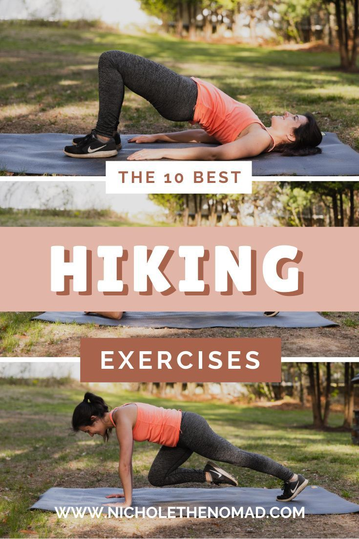 Best At-Home Exercises to Train to Hike