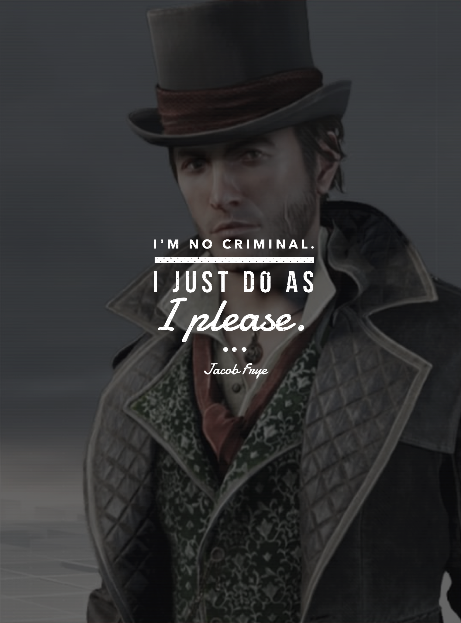 game character quote • jacob frye Assassins creed quotes