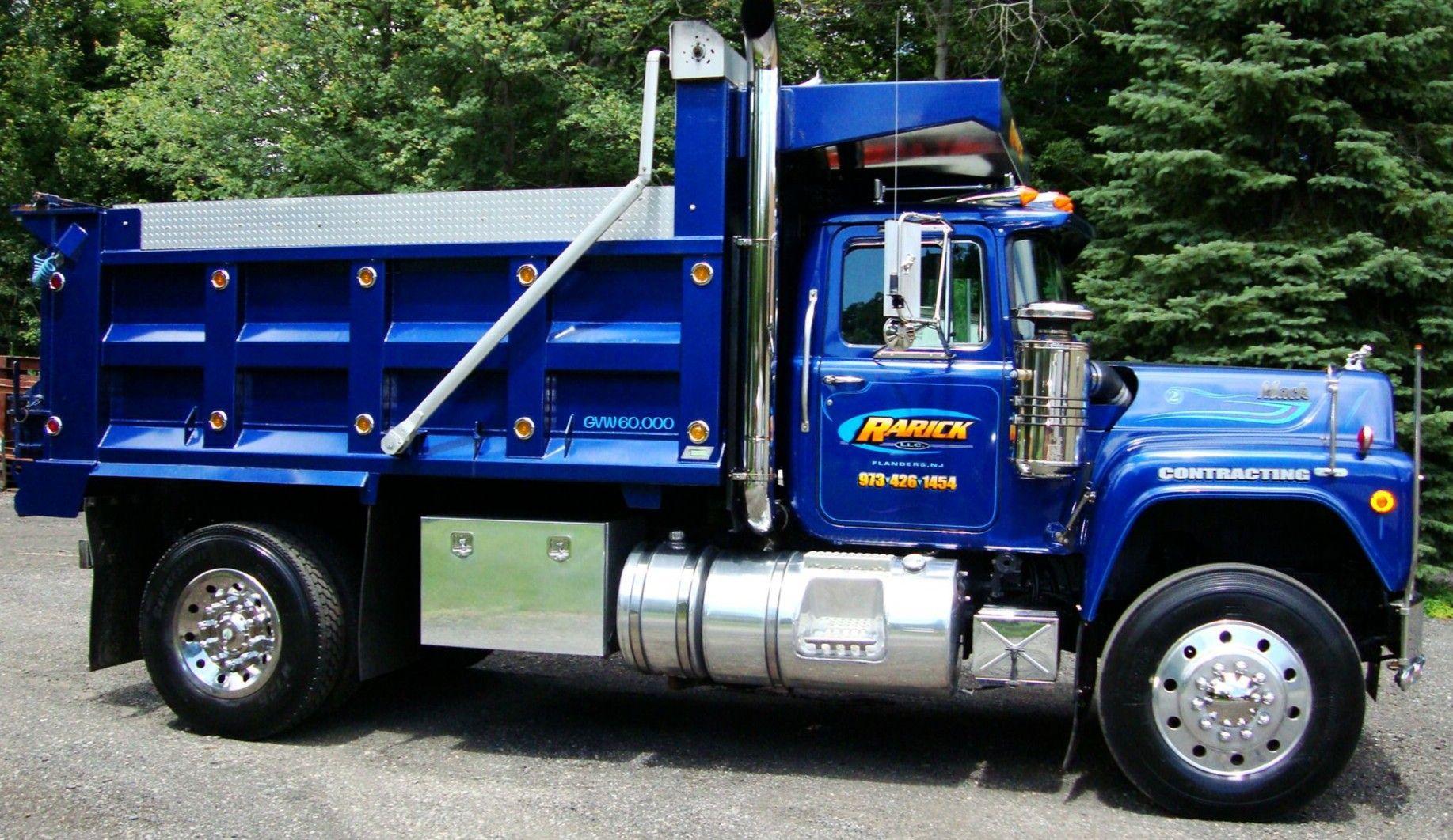 Pin by jim bird on mack r model trucks mack dump truck
