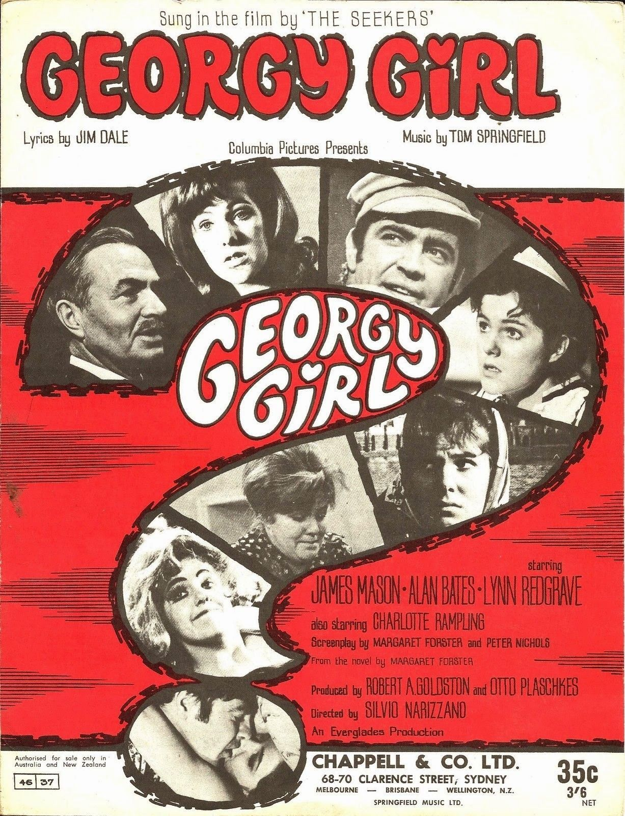 Image result for georgy girl film poster