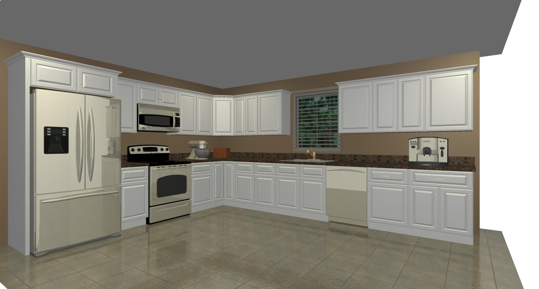 Budgeting Tool, Kitchen Drawers, Assembled Kitchen