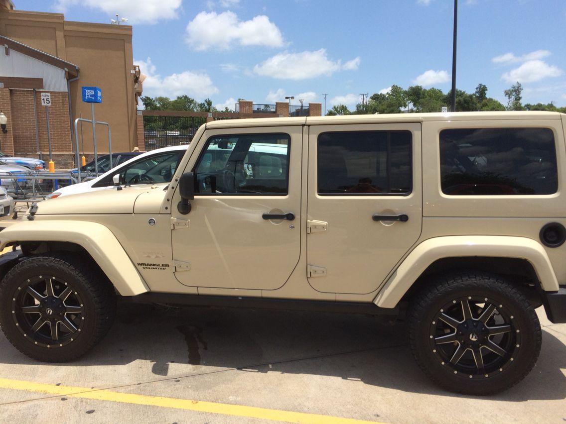 tan jeep wrangler sahara | vehicles | pinterest | jeep wrangler