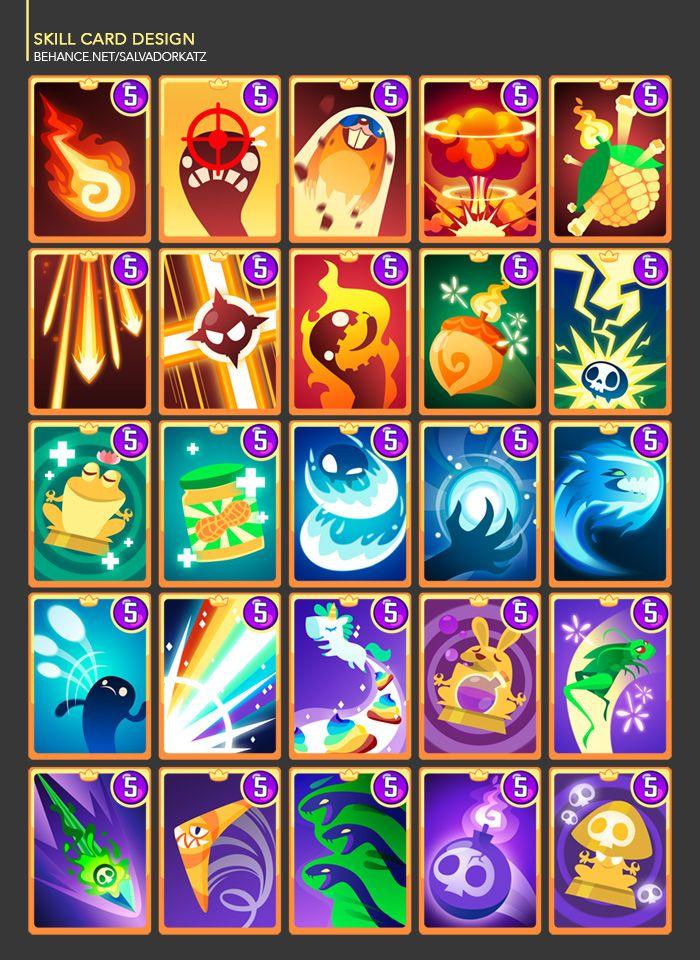 Frogmind Games On Behance Game Card Design Card Design Game Design