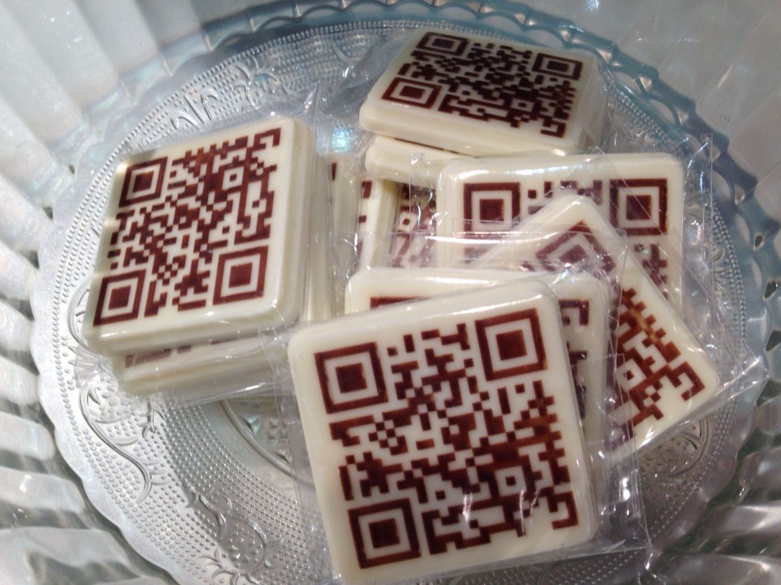 I have a craving for.....qr code candy.
