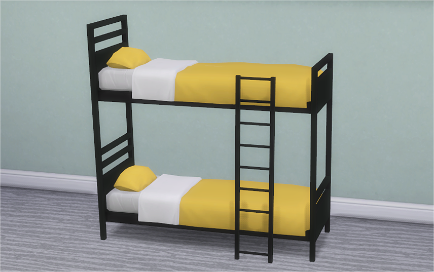 Build Working Bunk Beds Sims