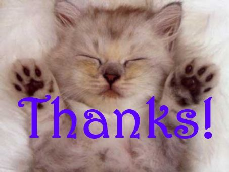 Thank you kitty for my friend Andrea! | My Uploads | Pinterest | Cute ...
