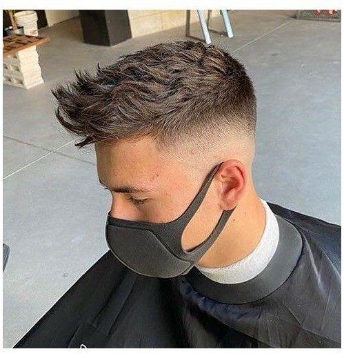 short hairstyles for men undercut hair trends