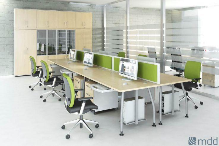 Bureau En Open Space : Exemple déco bureau open space open space desks