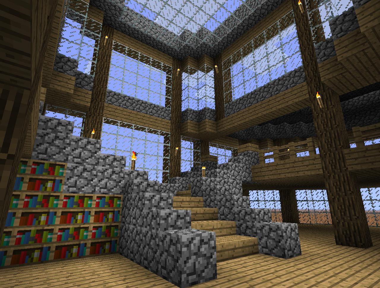 Building Stairs Minecraft