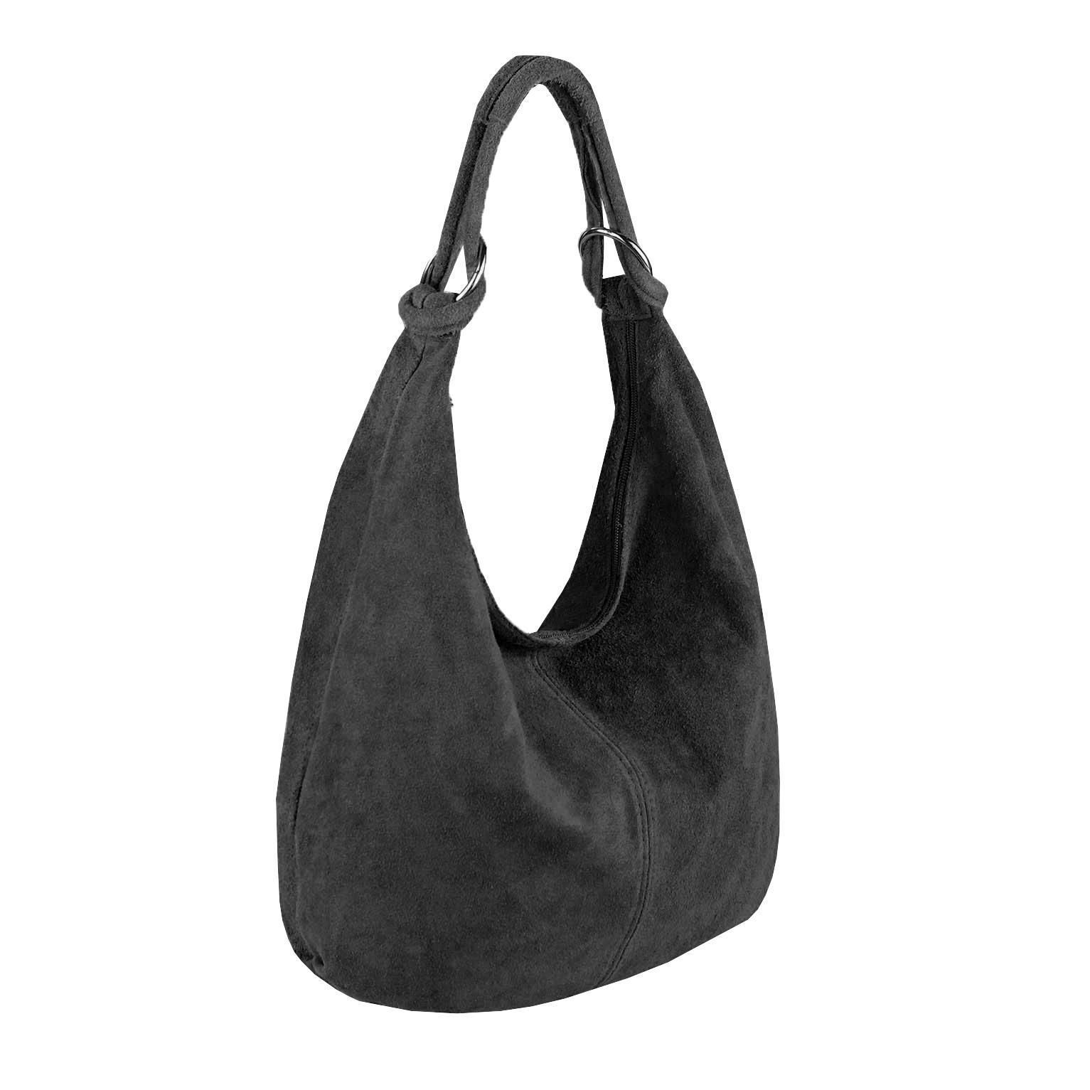 4d126ada5e0a Italy Ladies XXL Leather Suede Shopper Hand Bag Shoulder Bag Crossover Bag  8066080474461