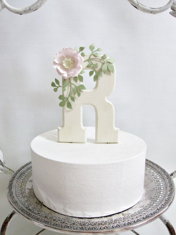 wedding cake topper letter r cake topper letter r baby shower amp birthdays 26350