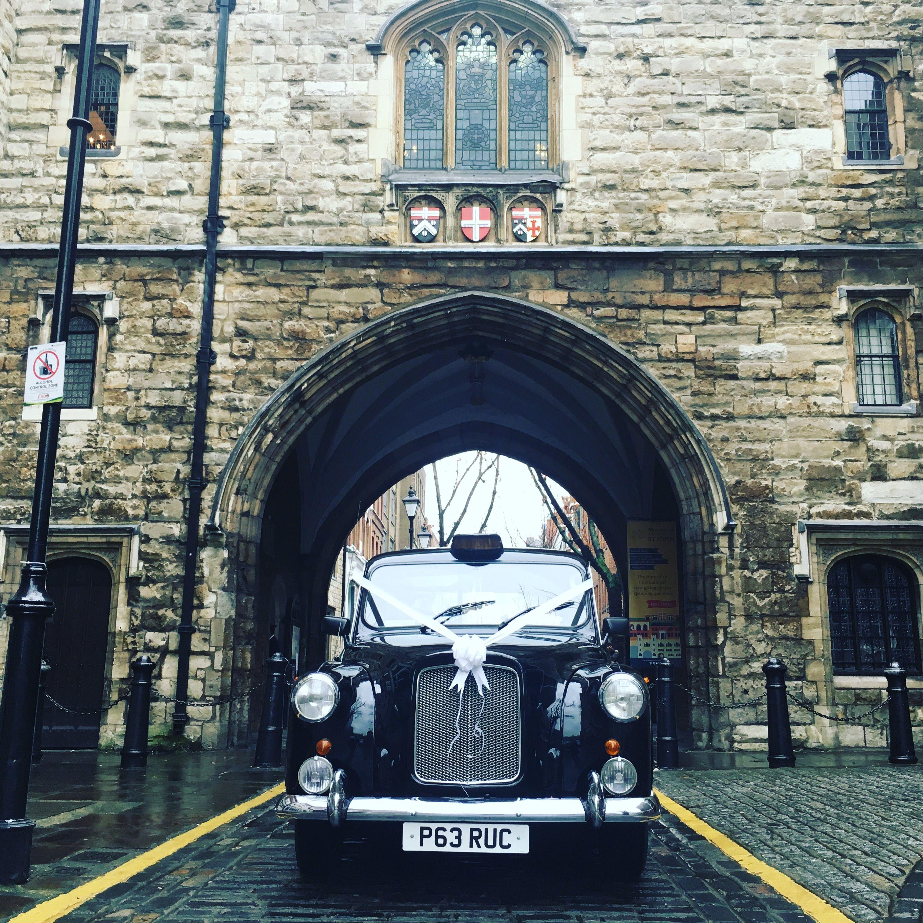 Classic fairway wedding taxi clerkenwell london taxi