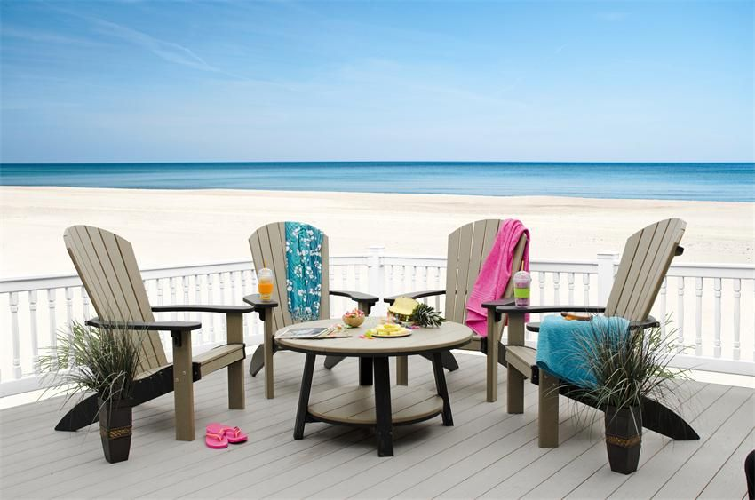 Finch Poly Seaaira 38 Conversation Table Outdoor Relaxing