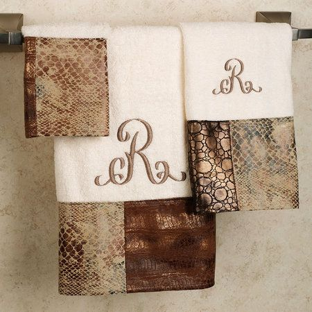 The Zambia Bath Towel Set Will Liven Up Your Bathroom Terry Looped Beige