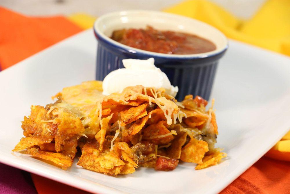 Cheesy Tex Mex Dorito Casserole Recipe With Images Beef
