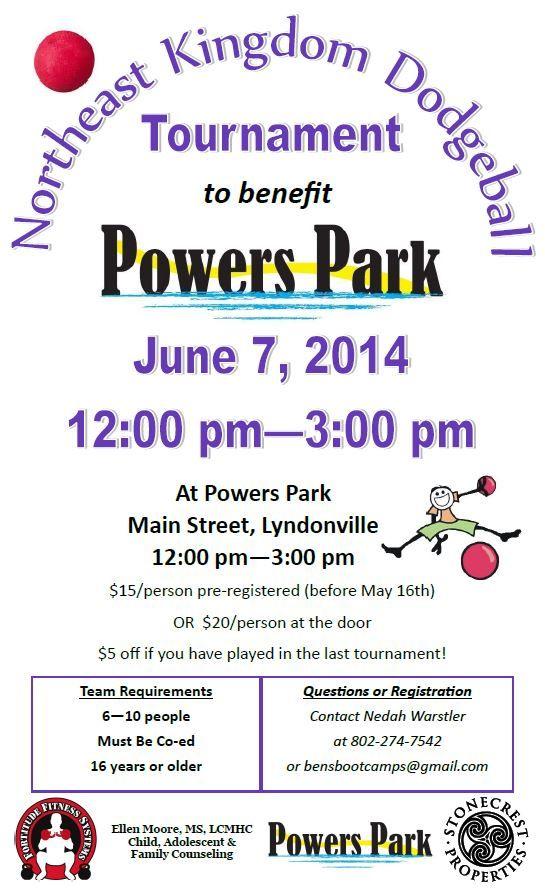 Dodgeball tournament! June 7, 2014! Sign Up!