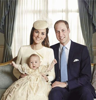 10/23/2013 Prince George - third in line to the throne - was baptised at Chapel Royal at St James's Palace.