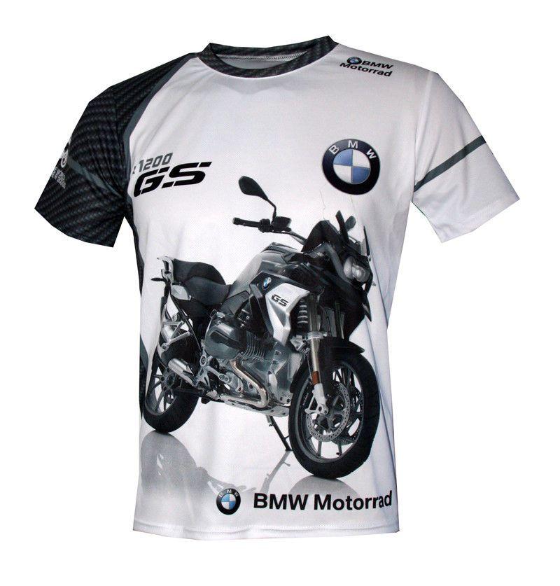 2c7789250ca9f BMW R1200GS Motorrad unique handmade sublimation graphics logos men s t- shirt 3