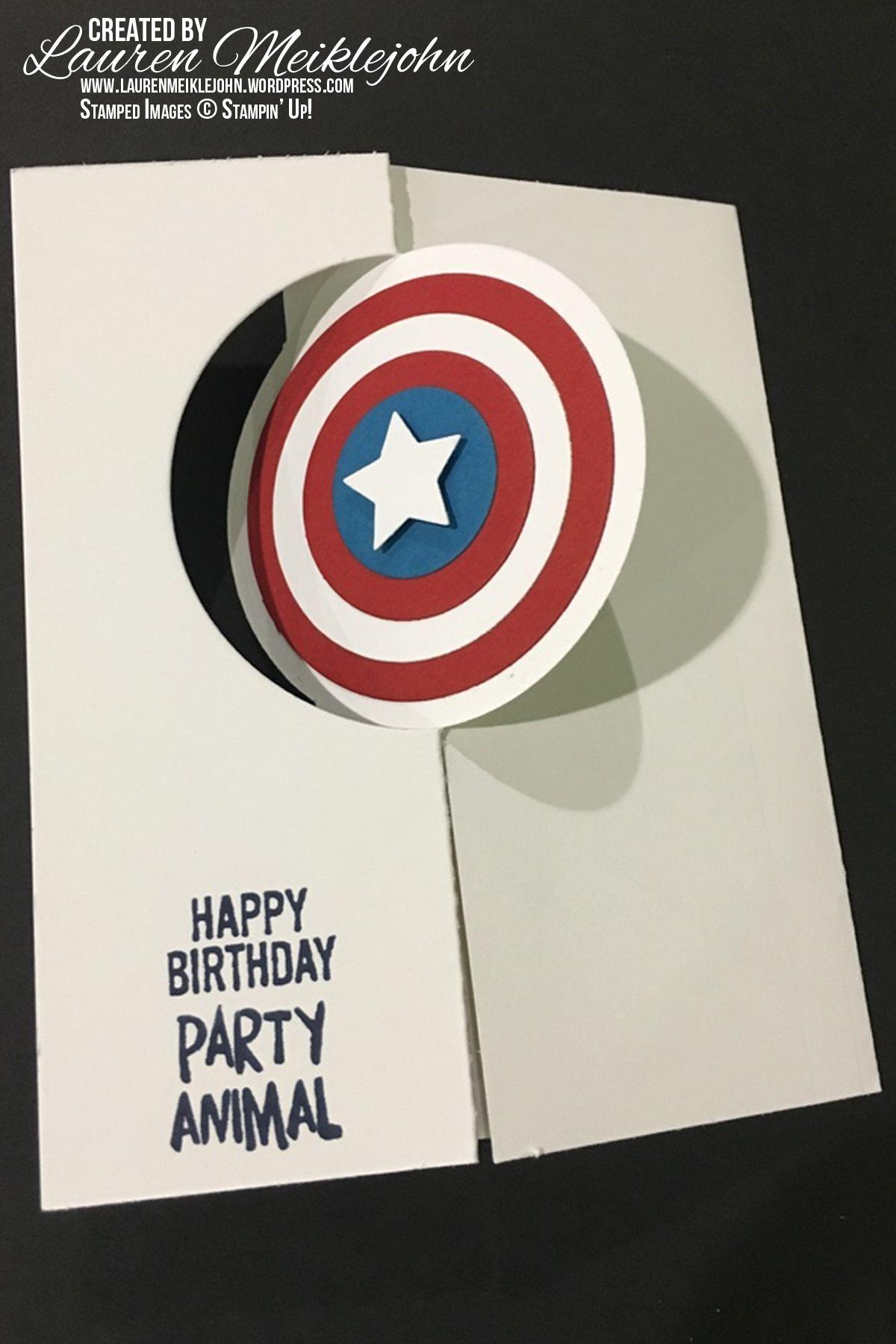 Captain America Vs Iron Man Birthday Cards For Boys Daddy Birthday Card Cricut Birthday Cards